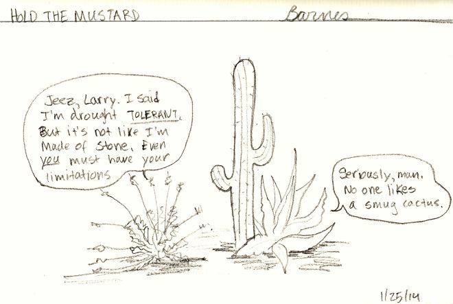Drought Intolerant