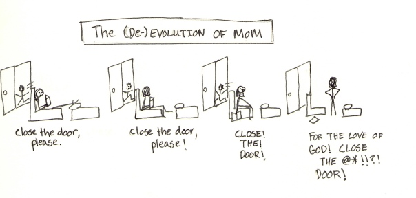 De-Evolution of Mom